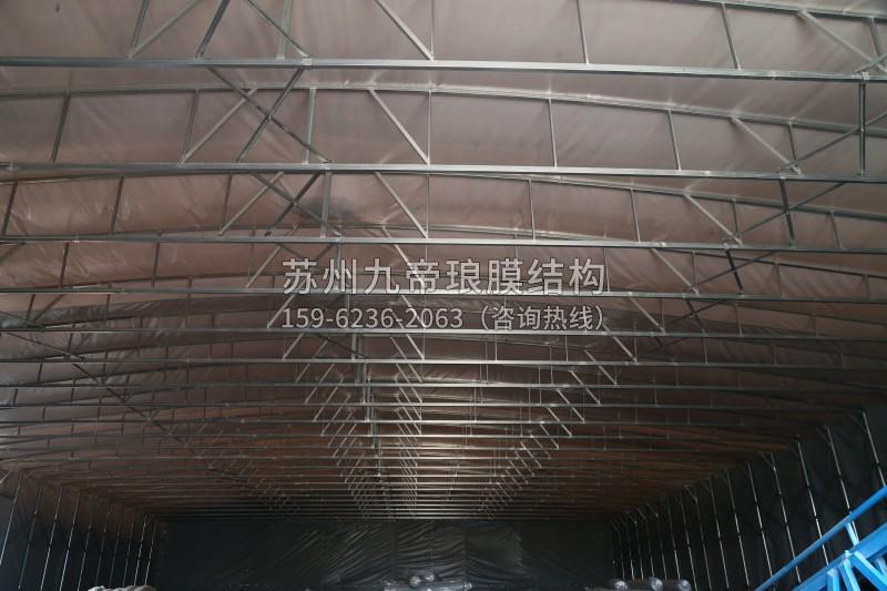 膜结构推拉棚