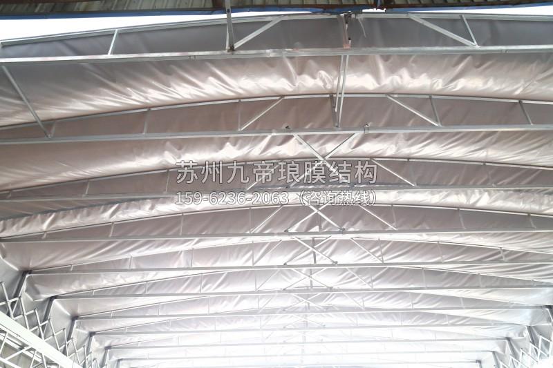 膜结构折叠雨棚
